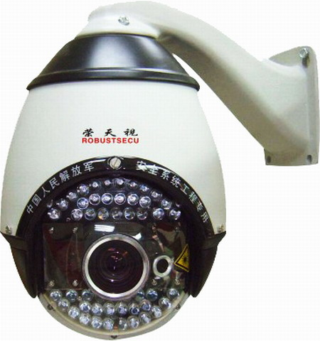 We finished the 4th improvement of IR speed dome cameras
