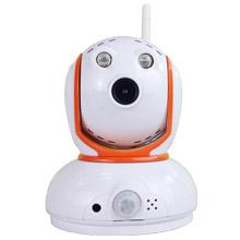 Low bit rate super mini H.264 megapixel pan tilt IP camera