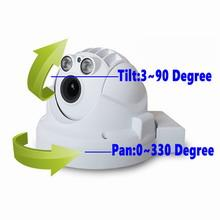 Low bit rate H.264 megapixel indoor cloud IP camera with motorized zoom lens
