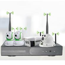 4CH 960P Wireless NVR kits 2.4GHz (Built-in router ,just plug and play)