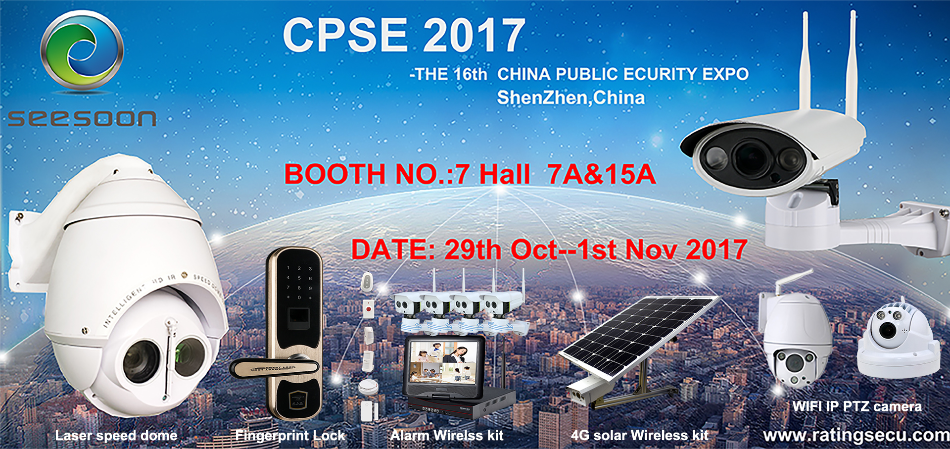 Welcome to visit us on 2017 CPSE