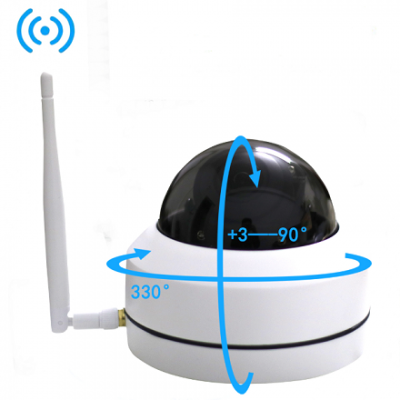 Mini Outdoor PTZ IP Dome Cameras