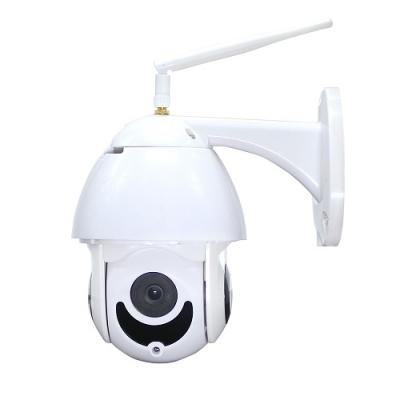 Wireless Mini Outdoor PTZ Dome Camera