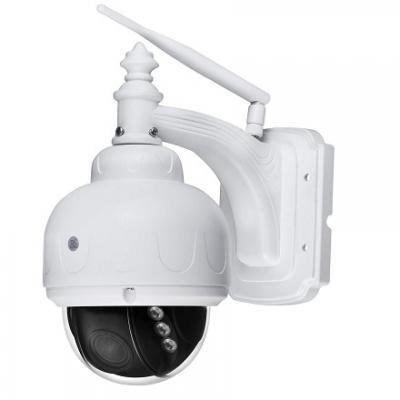 PTZ Dome IP Camera